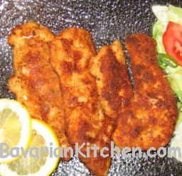 how to make chicken schnitzel at home